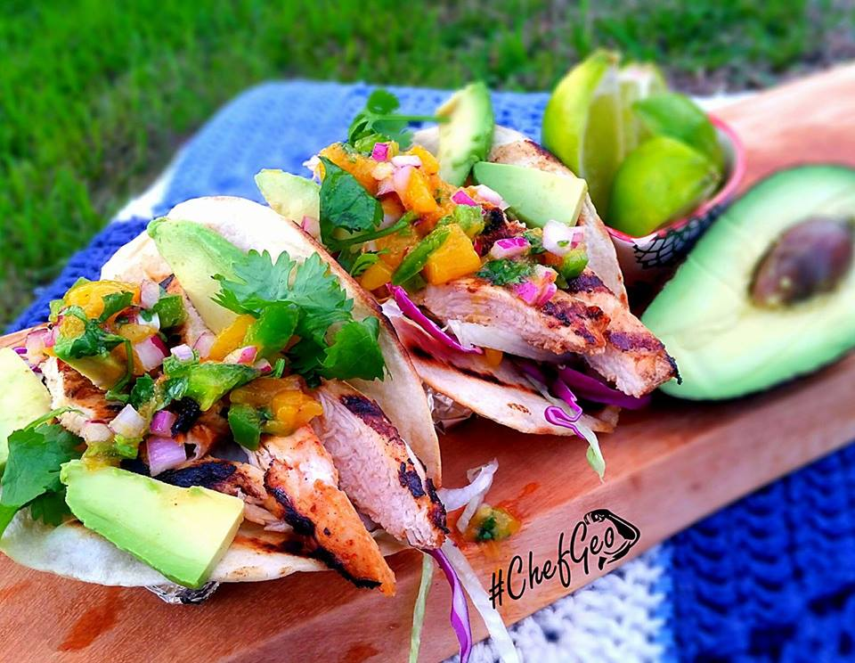 Chicken Mango Taco